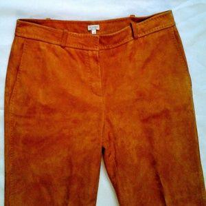 Pumpkin Suede Slacks size 46